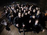 Le groupe sur Brooklyn Bridge