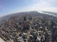 Tout Manhattan vu de l'Empire State Building