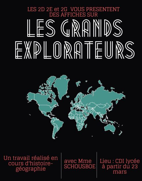 2E 2D 2G explorateurs